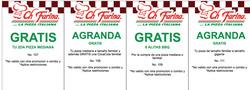 Ofertas de Ch Farina  en el folleto de Quito