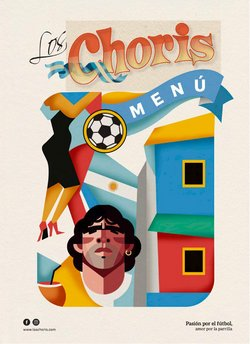 Ofertas de Restaurantes en el catálogo de Los Choris ( Más de un mes)