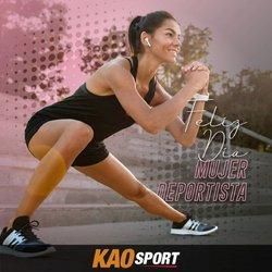 Ofertas de Deporte en el catálogo de Kao Sports Center en Quito ( 4 días más )
