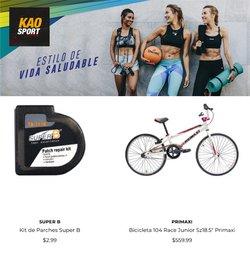 Catálogo Kao Sports Center ( 10 días más)