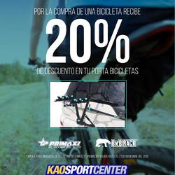Ofertas de Kao Sports Center  en el folleto de Guayaquil