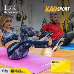 Cupón Kao Sports Center en Quito ( 2 días más )