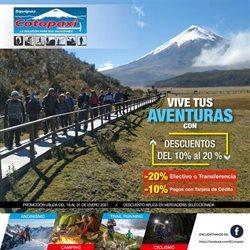 Ofertas de Deporte en el catálogo de Equipos Cotopaxi en Guayaquil ( 6 días más )