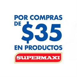 Ofertas de Supermaxi  en el folleto de Azogues