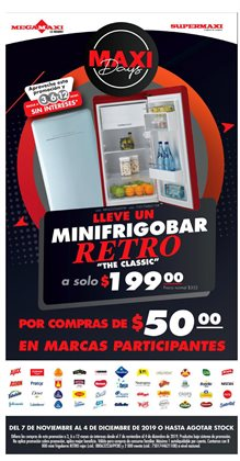 Ofertas de Supermaxi  en el folleto de Machala