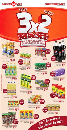 Ofertas de Supermercados en el catálogo de Supermaxi en Naranjito ( 7 días más )