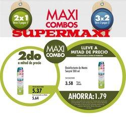 Ofertas de Supermaxi en el catálogo de Supermaxi ( 4 días más)