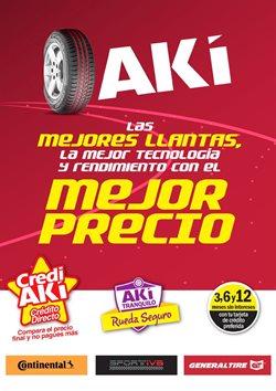 Ofertas de Supermercados en el catálogo de Akí en El Triunfo ( Más de un mes )