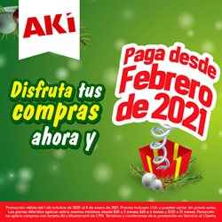 Ofertas de Supermercados en el catálogo de Akí en El Triunfo ( 3 días publicado )