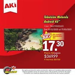 Ofertas de Supermercados en el catálogo de Akí ( Más de un mes )