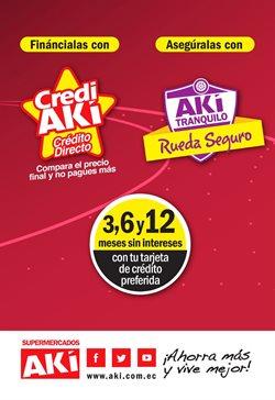 Ofertas de Supermercados en el catálogo de Akí ( Caduca mañana )
