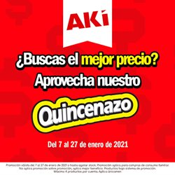 Catálogo Akí en Buena Fé ( Caducado )