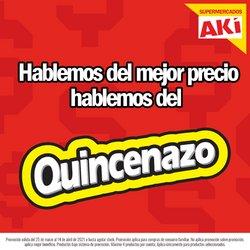 Ofertas de Supermercados en el catálogo de Akí ( 2 días más )