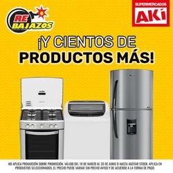 Ofertas de Akí en el catálogo de Akí ( 13 días más)