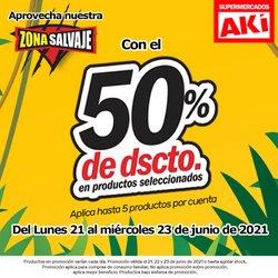 Ofertas de Supermercados en el catálogo de Akí ( Vence mañana)