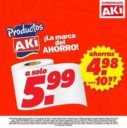 Ofertas de Supermercados en el catálogo de Akí ( 4 días más)