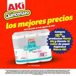 Catálogo Akí ( Vence mañana)