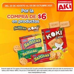 Ofertas de Supermercados en el catálogo de Akí ( 15 días más)