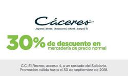 Ofertas de Calzados Cáceres  en el folleto de Quito