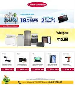 Ofertas de Tecnología y Electrónica en el catálogo de Créditos Económicos en Huaquillas ( 8 días más )