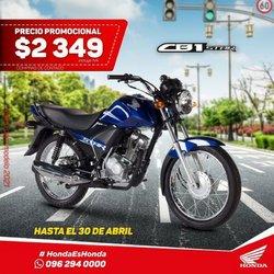 Catálogo Honda Motos ( 14 días más)