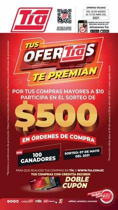 Ofertas de Supermercados en el catálogo de Tia en Quito ( 17 días más )