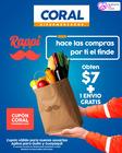 Cupón Coral Hipermercados en Machala ( 25 días más )