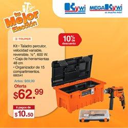 Ofertas de Ferreterías en el catálogo de Mega Kywi en Arenillas ( 2 días más )