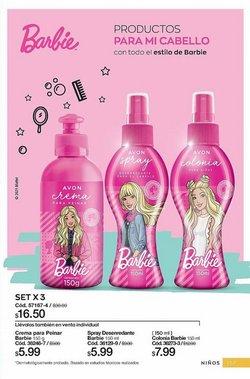 Ofertas de Barbie en el catálogo de AVON ( Más de un mes)