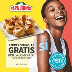 Ofertas de Restaurantes en el catálogo de Papa John's ( 4 días más)