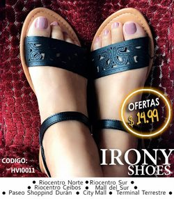 Ofertas de Irony Shoes  en el folleto de La Libertad