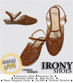 Catálogo Irony Shoes ( Caducado )