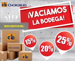 Ofertas de Almacenes Chordeleg  en el folleto de Cuenca