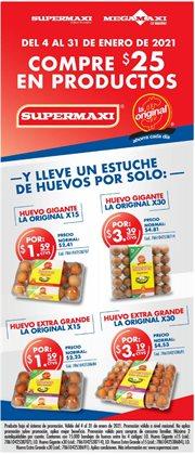Ofertas de Supermercados en el catálogo de Megamaxi en Naranjito ( 4 días más )