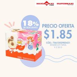 Ofertas de Megamaxi en el catálogo de Megamaxi ( 13 días más)