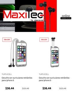 Ofertas de Tecnología y Electrónica en el catálogo de MaxiTec ( 4 días más)