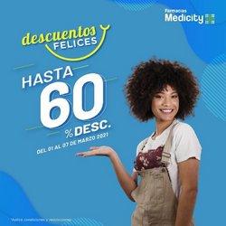 Ofertas de Salud y Farmacias en el catálogo de Farmacias Medicity en Rocafuerte ( Publicado ayer )