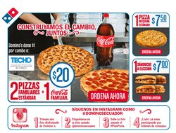 Ofertas de Domino's Pizza  en el folleto de Quito