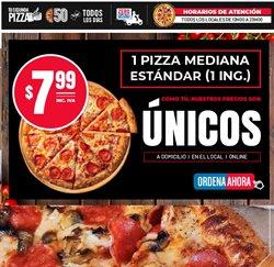 Ofertas de Restaurantes en el catálogo de Domino's Pizza en Manta ( 15 días más )