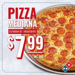 Ofertas de Restaurantes en el catálogo de Domino's Pizza ( 2 días más)