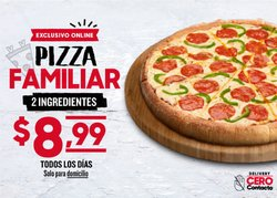 Catálogo Pizza Hut ( 22 días más )