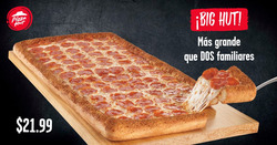 Ofertas de Pizza Hut  en el folleto de Quito
