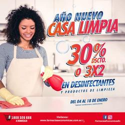Cupón Farmacias Económicas en Mocache ( 3 días más )