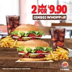 Ofertas de Burger King  en el folleto de Samborondon