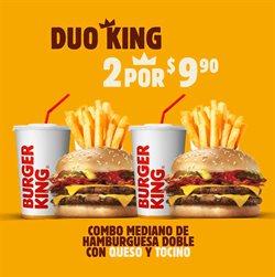 Ofertas de Restaurantes en el catálogo de Burger King en Pichincha ( 10 días más )