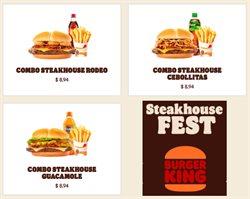 Ofertas de Restaurantes en el catálogo de Burger King en Pasaje Canton ( 2 días más )