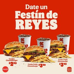 Ofertas de Burger King en el catálogo de Burger King ( Más de un mes)