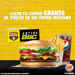Ofertas de Burger King  en el folleto de Quito