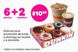 Catálogo Dunkin' Donuts ( Más de un mes)
