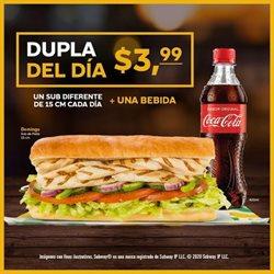 Ofertas de Restaurantes en el catálogo de Subway en Pichincha ( 10 días más )